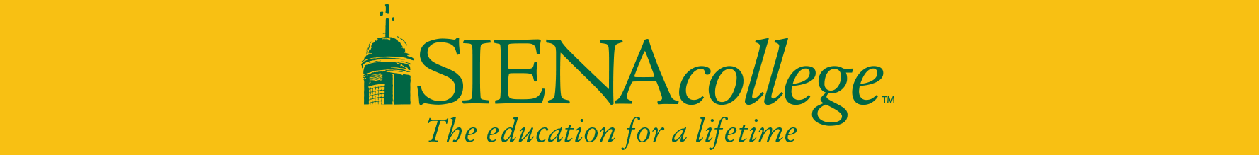 Siena College Footer